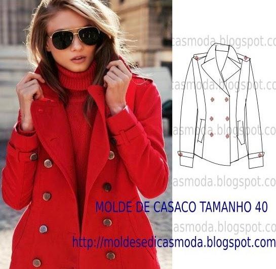 casaco de inverno senhora