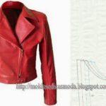 Molde blusão jaqueta juvenil