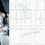 vestido de festa branco longo