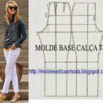 molde base calça clássica