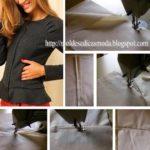como colocar fecho invisível em vestido