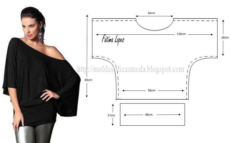 túnica de cinto largo