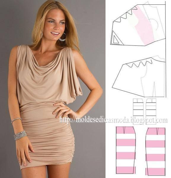 transformação de vestido