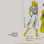 livro de costura em castelhano
