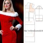 vestido alusivo à época de natal