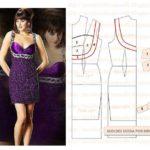 vestido de festa roxo curto
