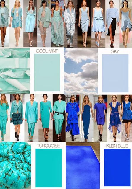 tendencias de cor
