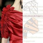 detalhes de manga e frente de vestidos