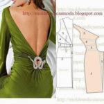 detalhe de modelação de vestidos