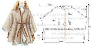 capa de inverno feminina simples