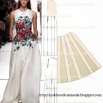 vestido floral longo sem mangas