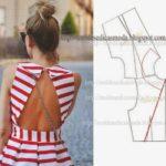 detalhes de modelagem de vestuário