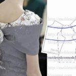 detalhes e design de vestidos