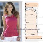 blusa rosa sem mangas feminina