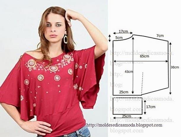 blusa capa tendência