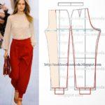 calça feminina vermelha