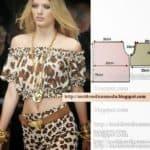blusa leopardo