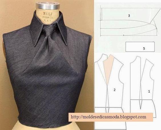 detalhes de camisa, vestido e camisa