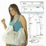 bolsa multiusos em tecido