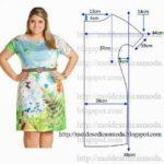 vestido estampado curto