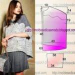 blusa feminina meia manga