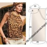 blusa estampa animal