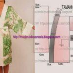 robe manga japonesa fácil de fazer