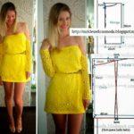 vestido cigana amarelo