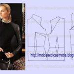 detalhes de modelação de ombros e pence