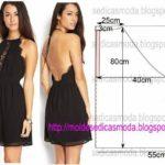 vestido preto curto com renda