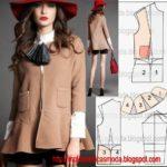 casaco moderno feminino