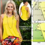 blusa regata feminina