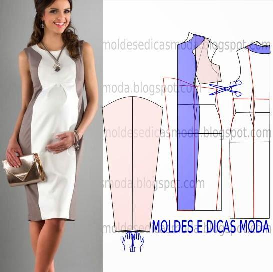 Своими руками платье для беременных