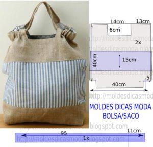 MOLDE DE BOLSA