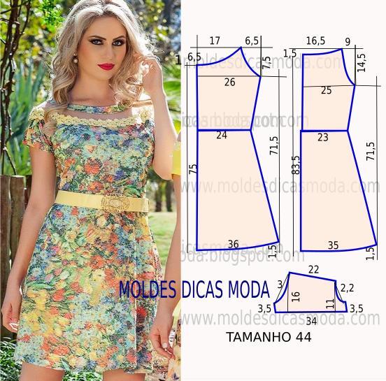 molde de vestido f cil  70 moldes moda por medida