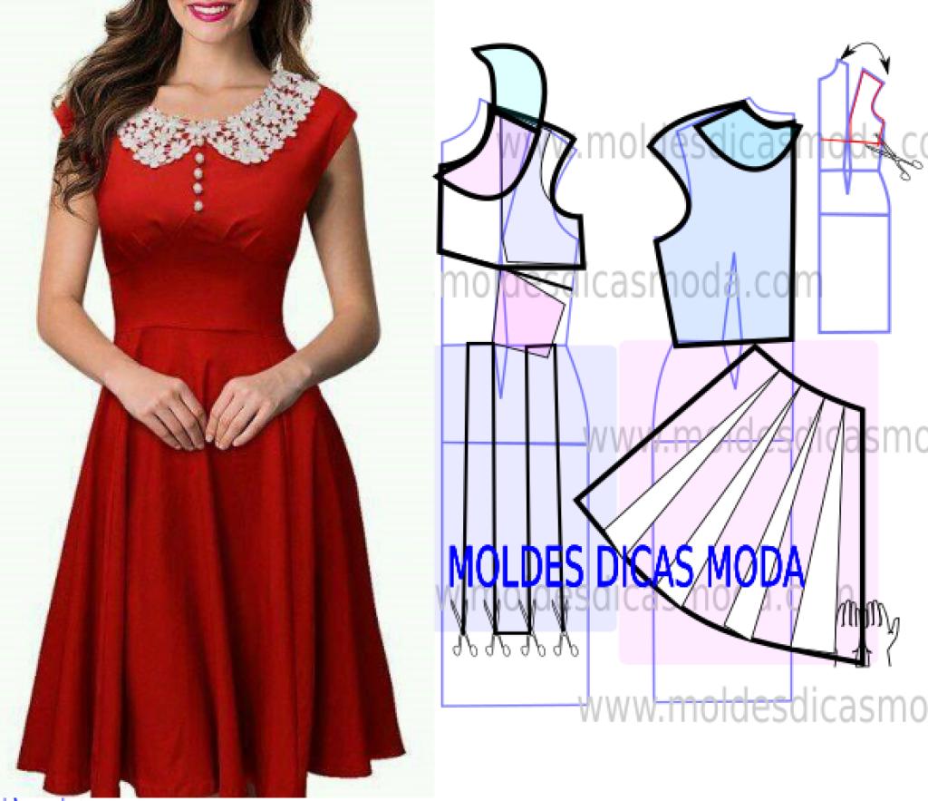 Как легко сшить простое платье? Как быстро сшить платье на