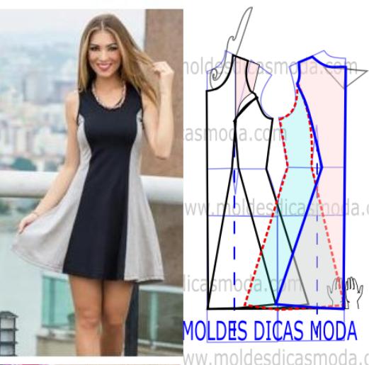 vestido de panos leves