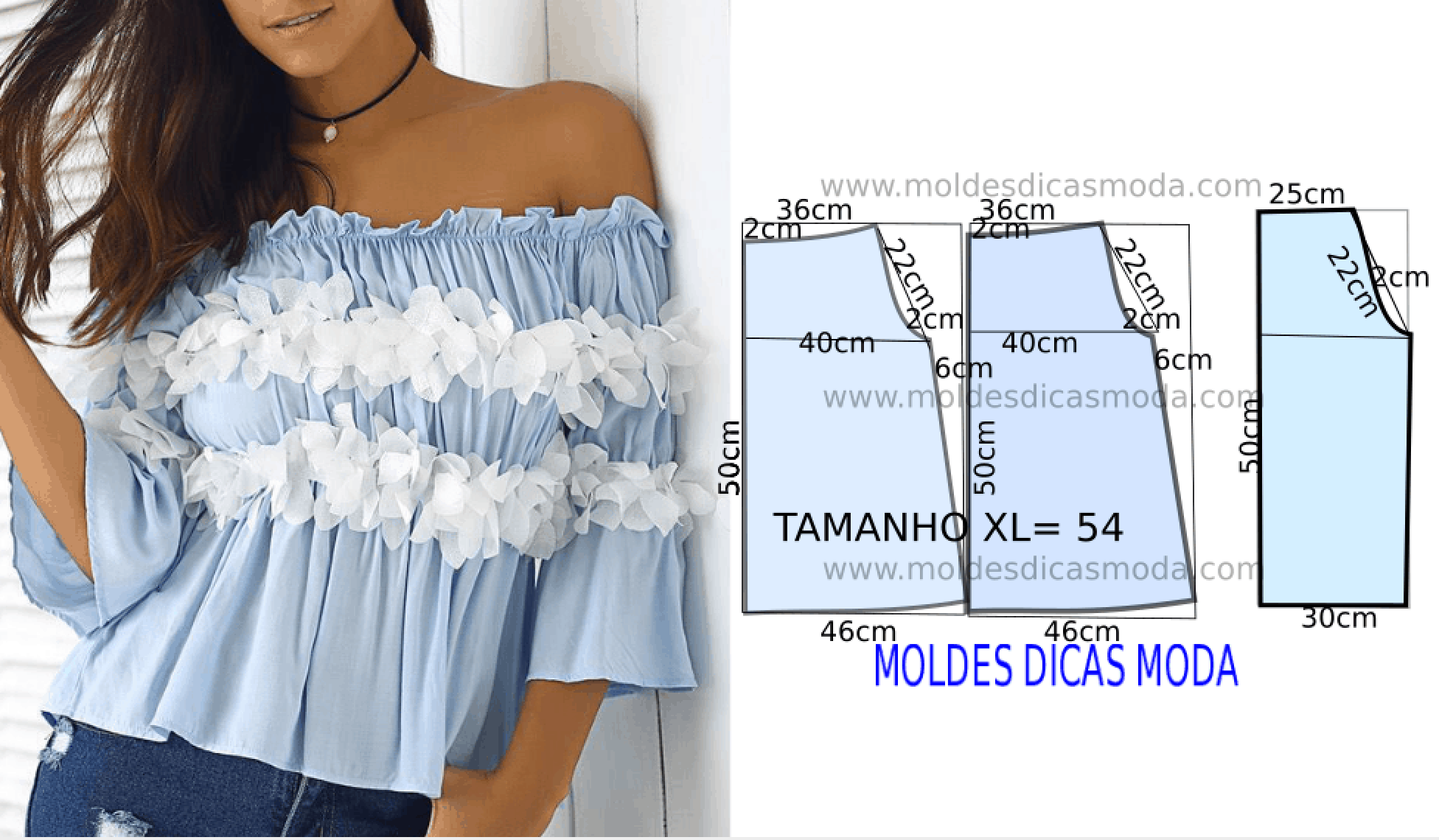blusa da moda 2017
