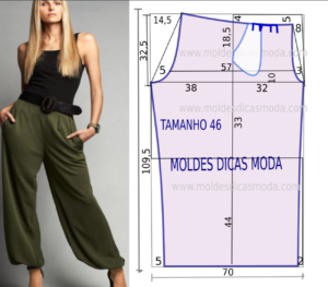 calça estilo chino feminina