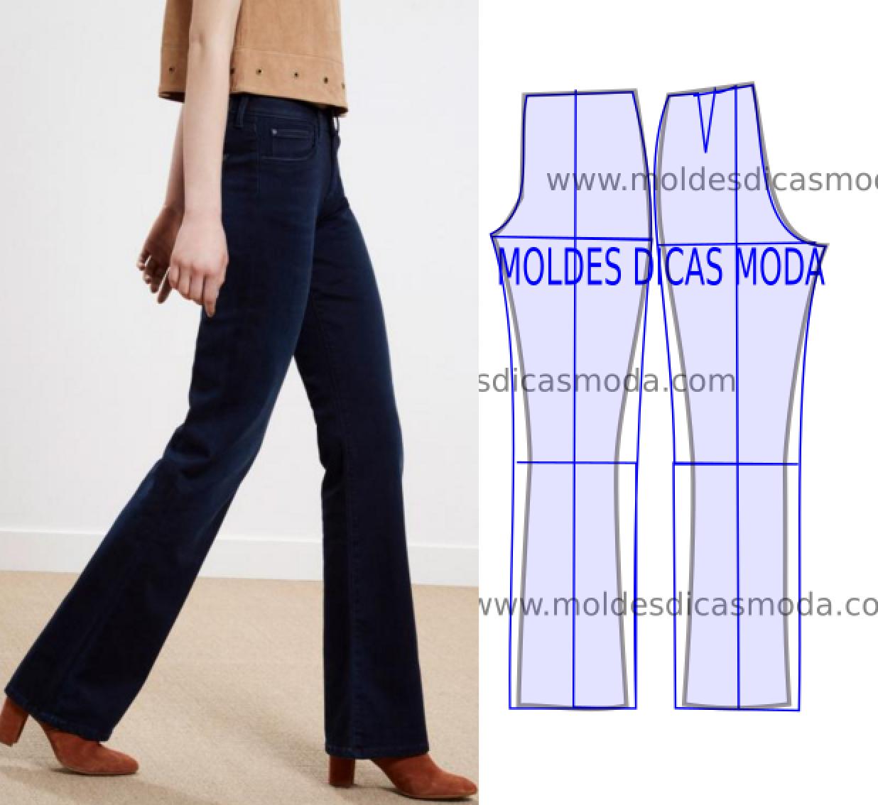 Detalhes e design de calзas