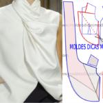 Blusa branca feminina para festa