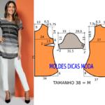 Como fazer camisa feminina passo a passo